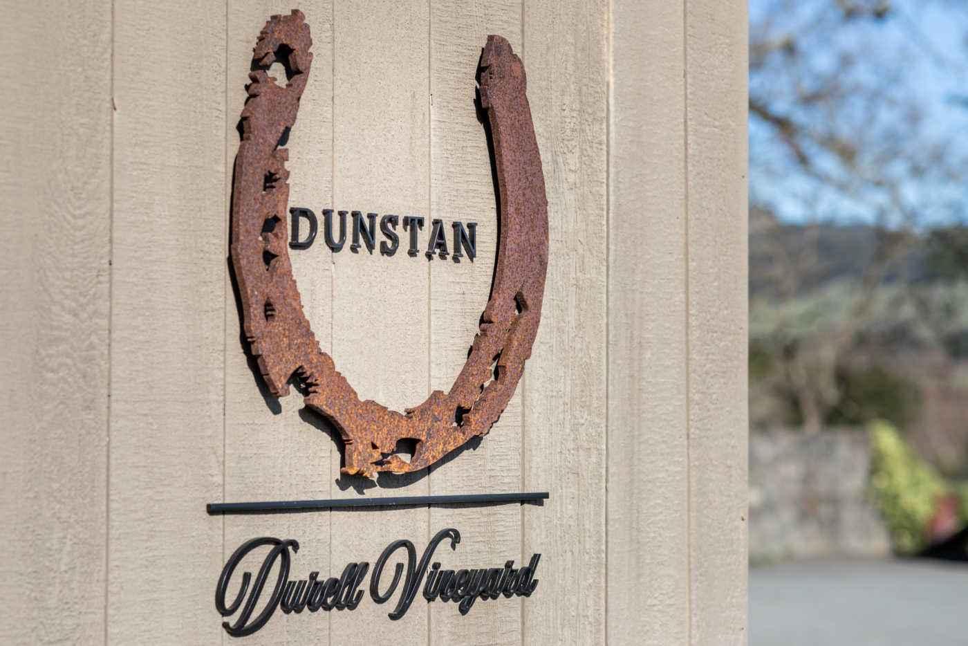 Durell Vineyard sign